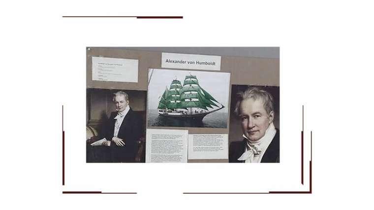 Humboldt Ausstellung zum 250. Geburtstag