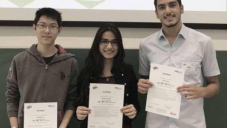 Nachwuchsförderung am Alexander von Humboldt-Gymnasium – SchülerInnen des Humboldt erhalten MILeNa-Zertifikat
