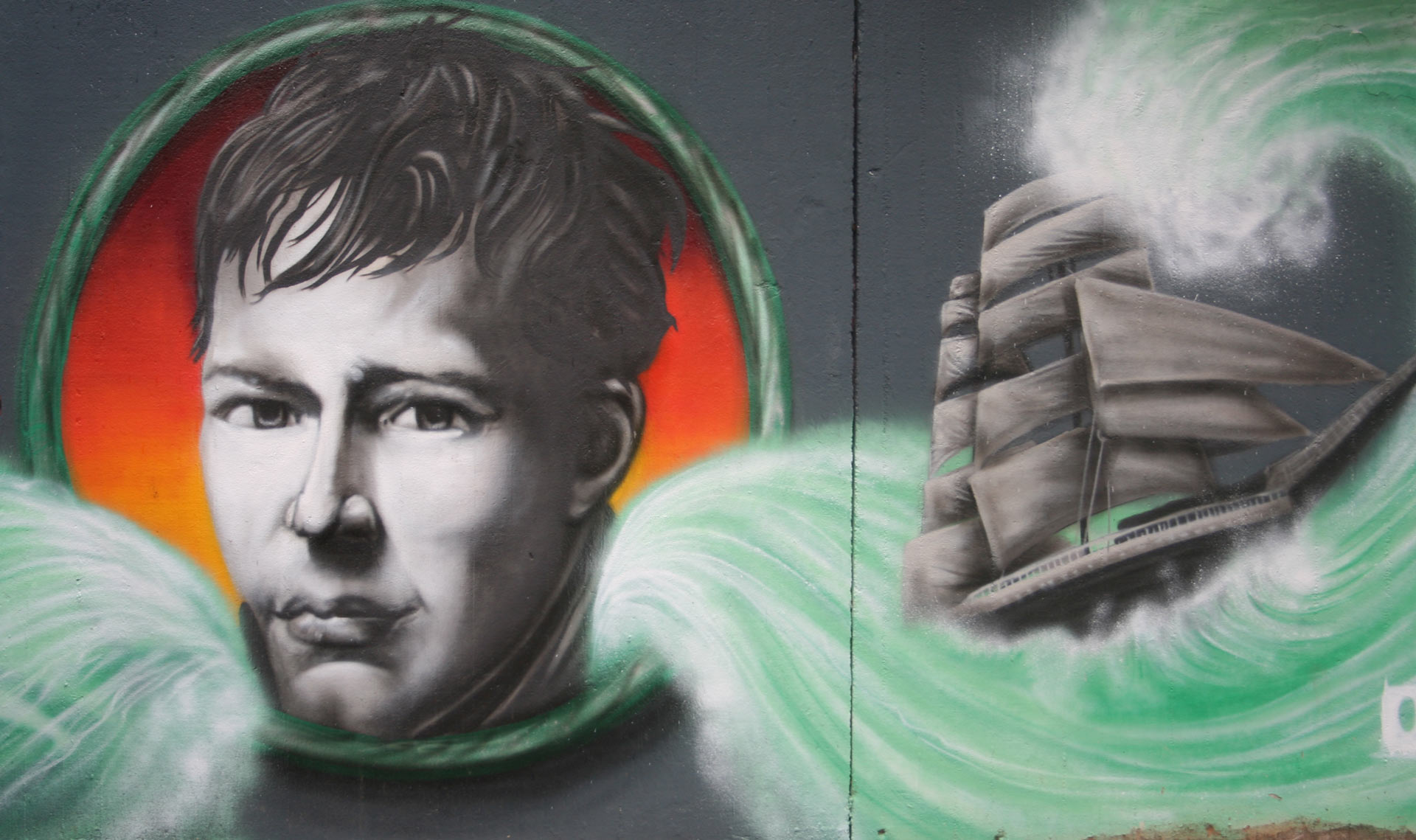 Humboldt Graffito Weberstraße